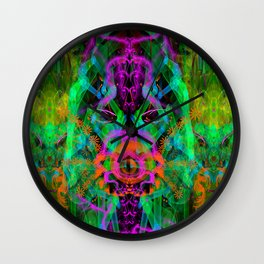 A Trinitarian From Hoag's Object (scifi, visionary) Wall Clock