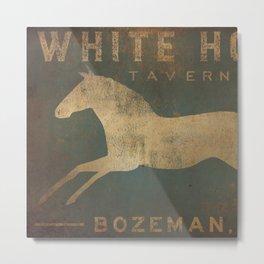 White Horse Tavern Metal Print