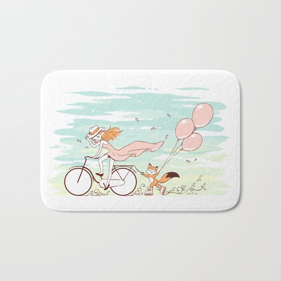 Spring Ride Bath Mat