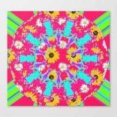 Sweet summer Vibe  Canvas Print