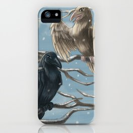 Winter Ravens iPhone Case