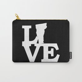 Vermont Pride USA State Love Map Carry-All Pouch