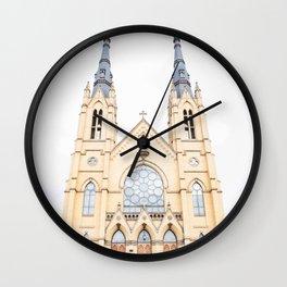 """""""St. Andrew's Catholic Church"""" Wall Clock"""