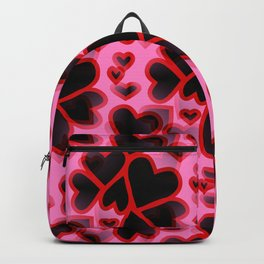 Explosion Of Hearts Backpack