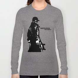 Watch dogs (aiden pearce) Long Sleeve T-shirt