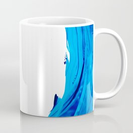 Pure Water 312 - Blue Abstract Art By Sharon Cummings Coffee Mug