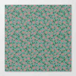 Tossed Lotus Canvas Print