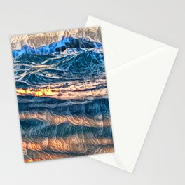 THE BEAUTY OF DEPTH ... Stationery Cards