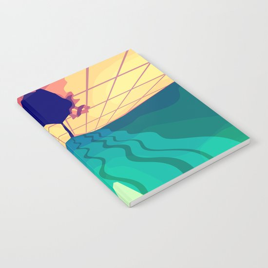 Over the Horizon Notebook