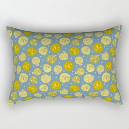 Pattern Project #47 / Skulls & Bulbs Rectangular Pillow