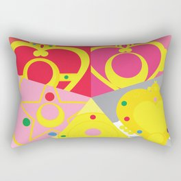 Make Up! Rectangular Pillow