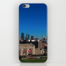 Union Station and Kansas City Skyline iPhone Skin