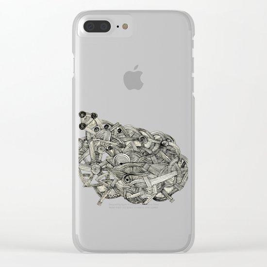 - dark world - Clear iPhone Case