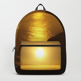 Sunset over the Canary Islands Backpack