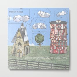 Modest Mouse - Building Nothing Out of Something Metal Print