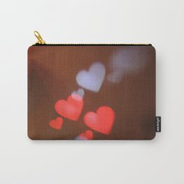 Light Hearts Carry-All Pouch