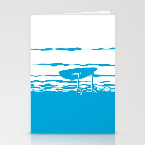 Partly Ducky Stationery Cards