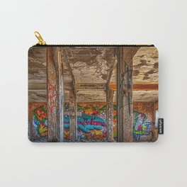Underground venue full of graffitis. Carry-All Pouch