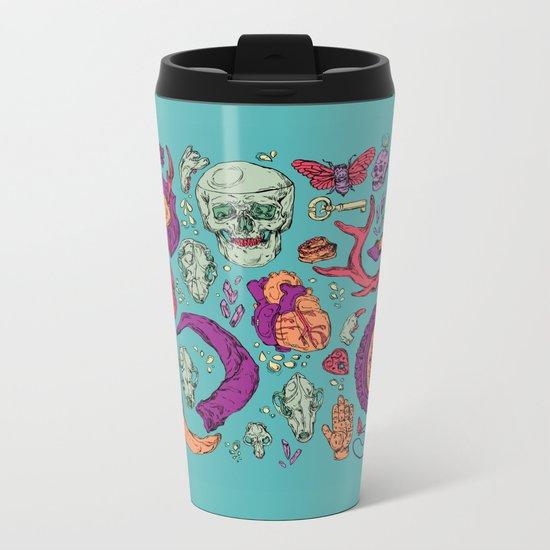 A Curious Collection Metal Travel Mug