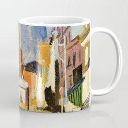 City Landscape - Joaquin Torres Garcia Coffee Mug