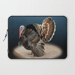 Spotlight on a Male Turkey Laptop Sleeve