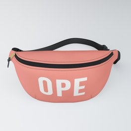 OPE Salmon Fanny Pack