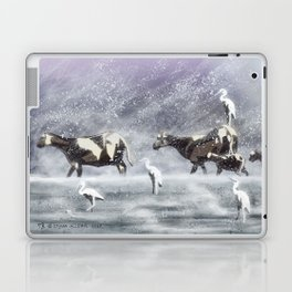Two Flocks (Weathering Winter) Laptop & iPad Skin