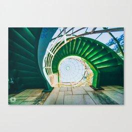 Spiral Down Canvas Print