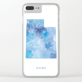 Utah Clear iPhone Case
