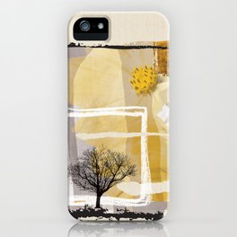 Fine Art of The Winter Smell Touching the Lonely Tree! iPhone Case