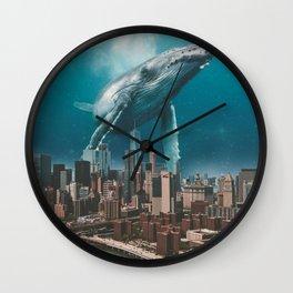 LONLEY VISITOR Wall Clock