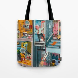 Greetings from Hungary (left side) Tote Bag