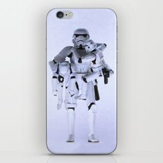 Trooper with Kids iPhone & iPod Skin