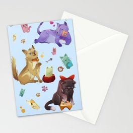 Catcalling Stationery Cards