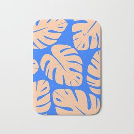 Monstera Leaf Print 5 Bath Mat