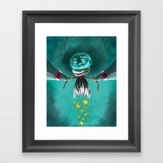 Mental Health Cuts Framed Art Print