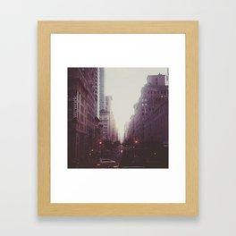 Fifth Avenue, NY Framed Art Print