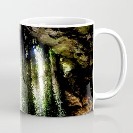 Inside a cave, looking out! Coffee Mug