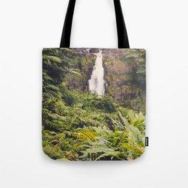 Jungle Waterfall III Tote Bag