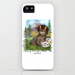 Bobcat Ross iPhone Case