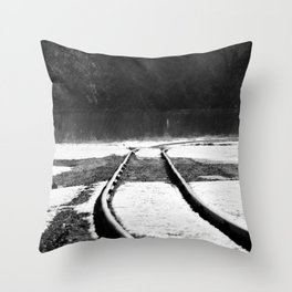Right Justify Throw Pillow