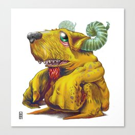Beelzepup Canvas Print