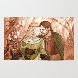Tristan and Isolde Rug