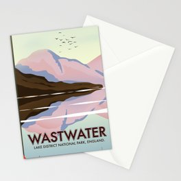 Wastwater Lake district England Stationery Cards