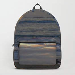 Ruby's Seagull at Sunrise Backpack