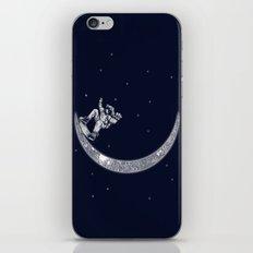 Skate in space iPhone & iPod Skin