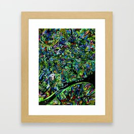 Emerald City Framed Art Print