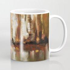 Brown City Mug