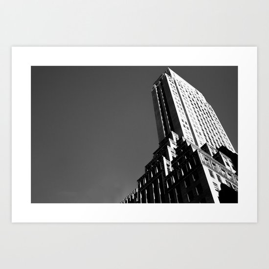 Somewhere in New York Art Print