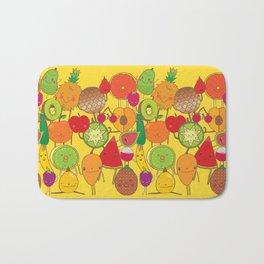 Veggies Fruits Bath Mat